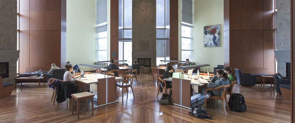 Stauffer Library Room