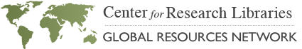 Center for Research Libraries logo