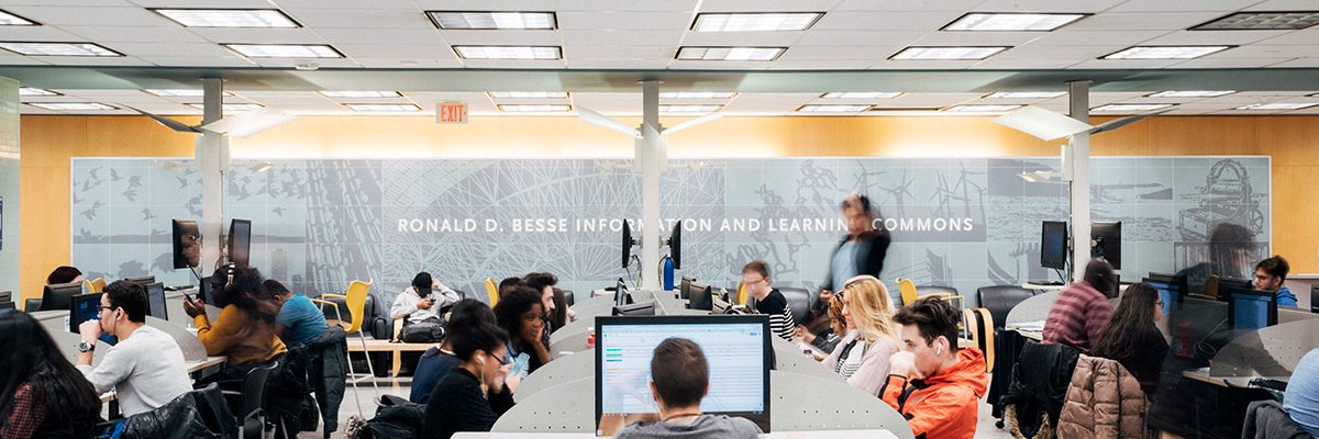 Ronald D. Besse Information & Learning Commons, Ryerson University. Photo credit: Ryerson University.